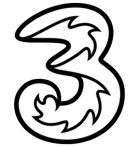 three-logo-283x300
